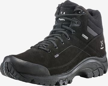 Boots 'Ridge Mid GT' Haglöfs en noir