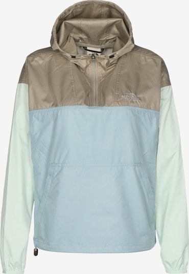 THE NORTH FACE Performance Jacket 'Cyclone' in Dark beige / Light blue / Pastel green, Item view