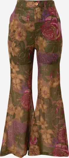 Mes Demoiselles Hose 'Aster' in khaki / mischfarben, Produktansicht