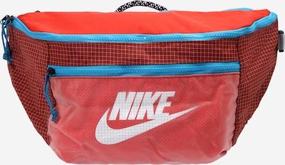 Nike Sportswear Sacs banane en turquoise / rouge / lie de vin / blanc, Vue avec produit