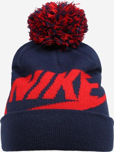 Nike Sportswear Mütze und Handschuhe Set 'SWOOSH ' in nachtblau, Produktansicht