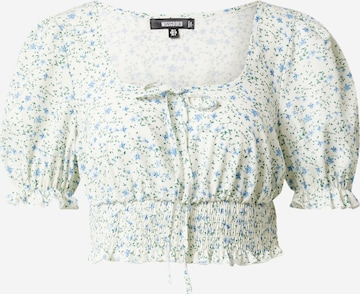 Missguided Bluse in Weiß