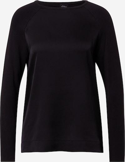 s.Oliver BLACK LABEL Pullover in schwarz, Produktansicht