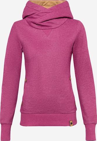 Fli Papigu Sweatshirt 'U Sexy I am Sexy' in Purple