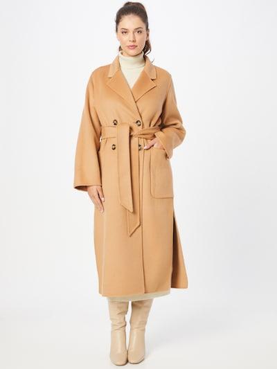 IVY & OAK Between-Seasons Coat in Light beige, View model