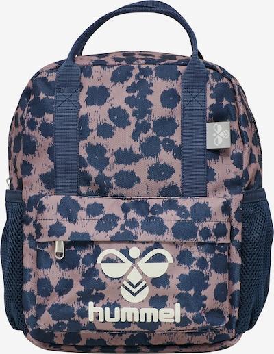 Hummel Backpack in Dark blue / Dusky pink / White, Item view