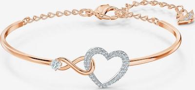 Swarovski Armreif 'Infinity' in rosegold / silber, Produktansicht
