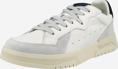 Marc O'Polo Nízke tenisky - béžová / námornícka modrá / prírodná biela, Produkt