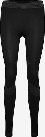 Hummel Tights in basaltgrau / schwarz, Produktansicht