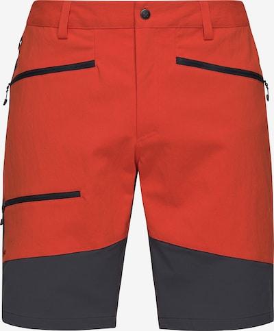 Haglöfs Outdoorhose 'Rugged Flex' in graphit / orange, Produktansicht
