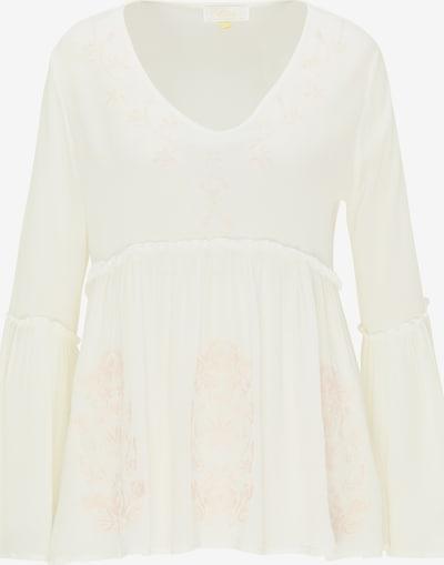 usha FESTIVAL Blouse in de kleur Rosa / Wit, Productweergave