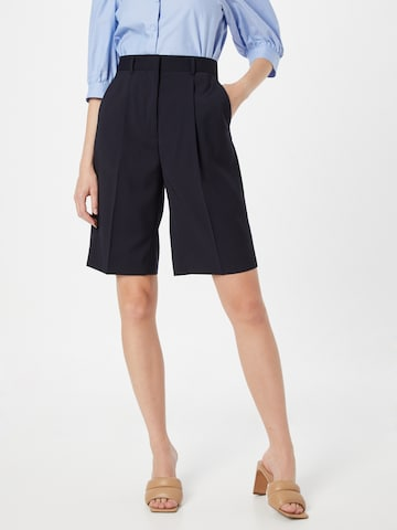 The Kooples Pleat-front trousers in Blue