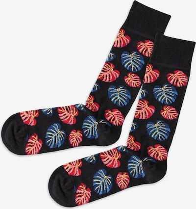 DillySocks Sokken in de kleur Blauw / Geel / Rood, Productweergave