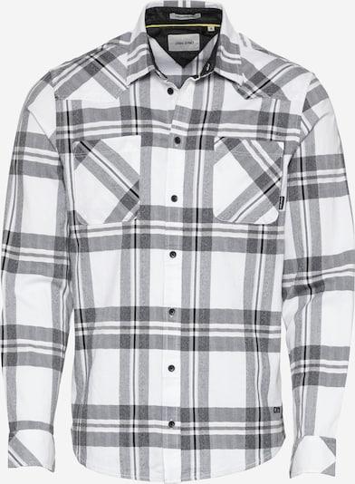 BLEND Shirt in Black / White, Item view