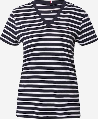TOMMY HILFIGER Shirt in marine / weiß, Produktansicht