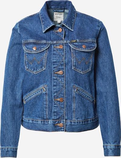 WRANGLER Jacke in blue denim, Produktansicht