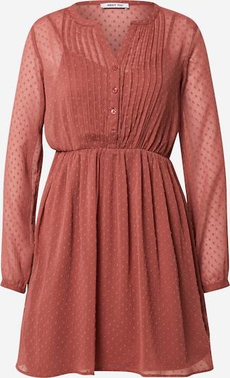 ABOUT YOU Kleid 'Danika' in rostrot, Produktansicht