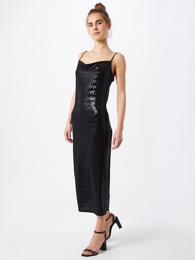 Gina Tricot Večernja haljina 'Svala' u crna, Prikaz modela