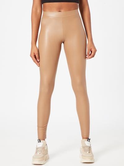 Leggings PIECES di colore beige chiaro, Visualizzazione modelli