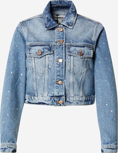 NEW LOOK Veste mi-saison en bleu denim, Vue avec produit