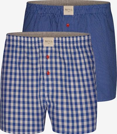 Phil & Co. Berlin Boxers ' Classic Double ' en bleu, Vue avec produit
