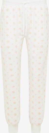MYMO Spodnie w kolorze jasnozielony / jasnoczerwony / białym, Podgląd produktu