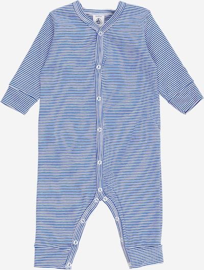 PETIT BATEAU Romper/Bodysuit in Light blue / White, Item view