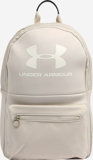 UNDER ARMOUR Sports backpack 'Loudon' in cappuccino / white, Item view