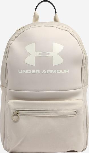 UNDER ARMOUR Urheilureppu 'Loudon' värissä cappuccino / valkoinen, Tuotenäkymä