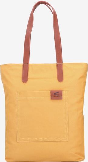 CAMEL ACTIVE Shopper 'Shirley' in braun / safran, Produktansicht