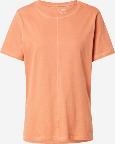 ThokkThokk T-shirt en corail, Vue avec produit
