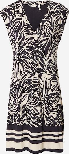 s.Oliver BLACK LABEL Kleid in beige / schwarz, Produktansicht