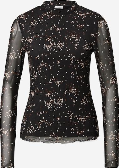 s.Oliver BLACK LABEL Shirt in creme / schoko / schwarz / weiß, Produktansicht