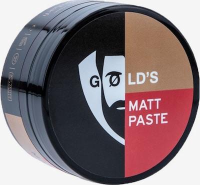 Gøld's Paste 'Matt' in hellbraun / rot / schwarz / weiß, Produktansicht