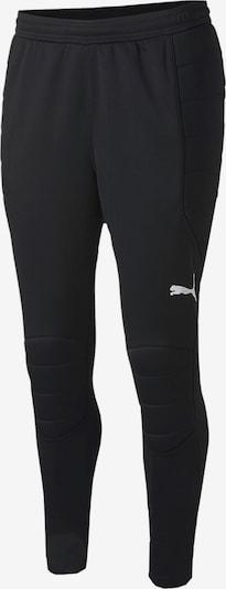 PUMA Torwarthose in schwarz / weiß, Produktansicht