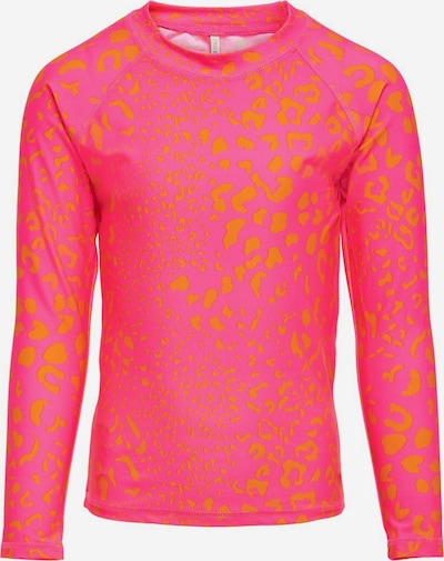 KIDS ONLY Schwimmshirt 'Marie' in orange / pink, Produktansicht