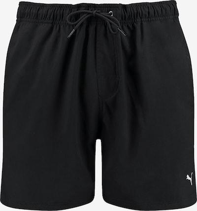 PUMA Unterwäsche in schwarz / weiß: Frontalansicht