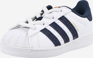 Sneaker 'SUPERSTAR' di ADIDAS ORIGINALS in bianco