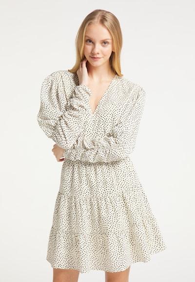 MYMO Kleid in schwarz / weiß, Modelansicht
