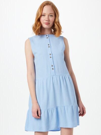 VERO MODA Рокля тип риза в светлосиньо, Преглед на модела