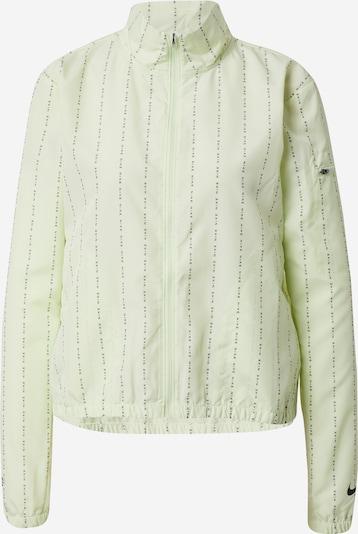 NIKE Sportjas in de kleur Limoen / Zwart, Productweergave