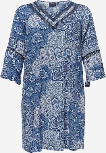 Zizzi Vestido 'WISMA' en azul / blanco, Vista del producto