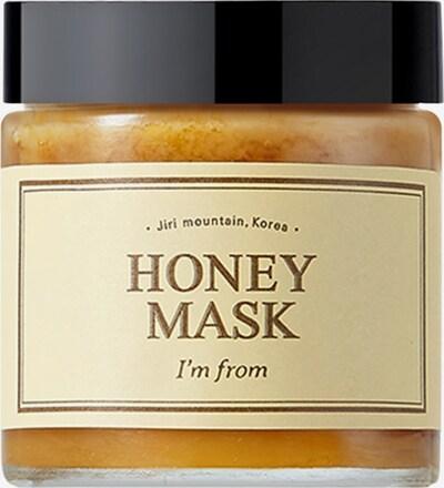 I´m from Maske 'Honey' in honig, Produktansicht