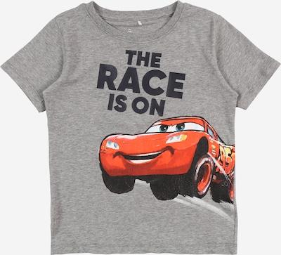 NAME IT Koszulka 'Cars' w kolorze żółty / nakrapiany szary / pomarańczowo-czerwony / czarny / białym, Podgląd produktu