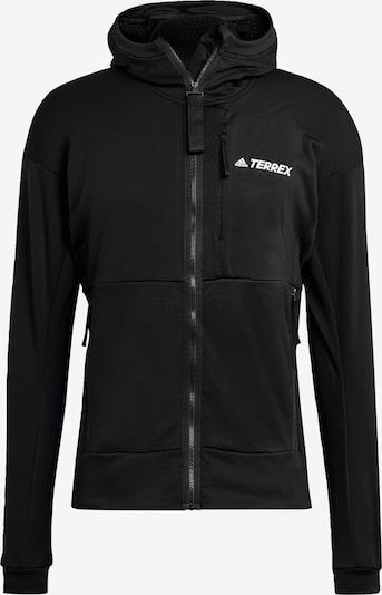 adidas Terrex Fleecejacke in schwarz, Produktansicht
