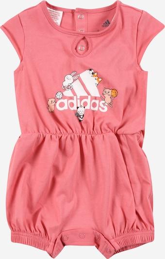 ADIDAS PERFORMANCE Sport-Ganzteile in rosa / weiß, Produktansicht