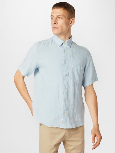Marc O'Polo Hemd in hellblau: Frontalansicht