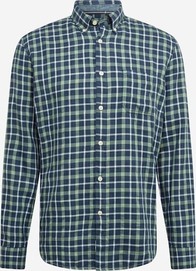 Marc O'Polo Hemd in navy / hellgrün / weiß, Produktansicht