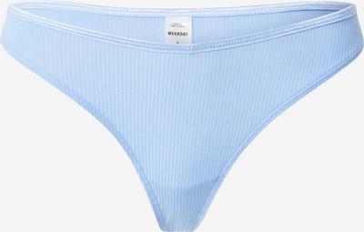 WEEKDAY Thong 'Julie' in Light blue, Item view