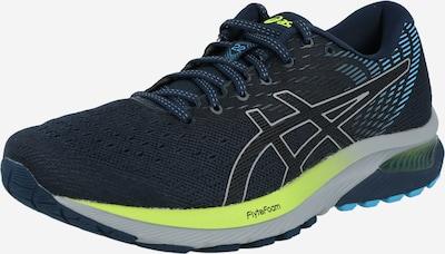 ASICS Zapatillas de running en azul / gris claro / manzana / negro, Vista del producto